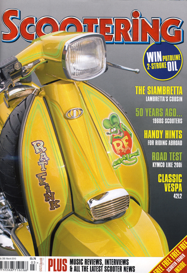 Scootering 285 Cover